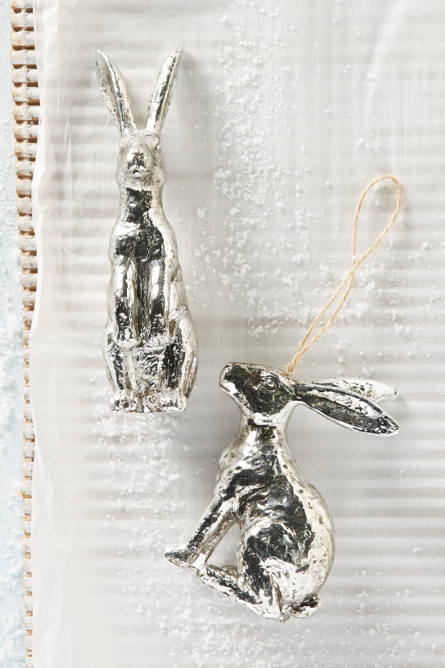 Hopalong Bunny Ornament
