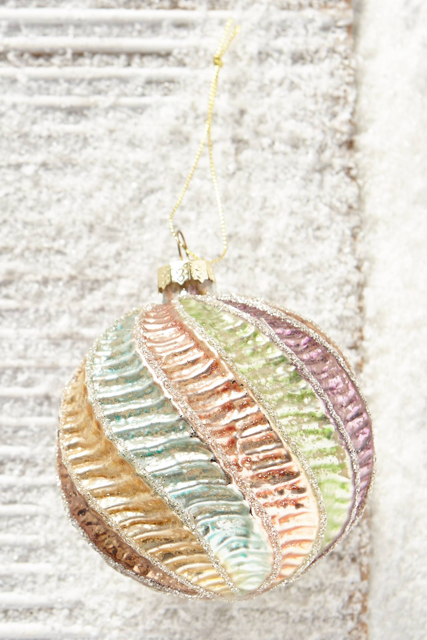 Ribbon Candy Ornament