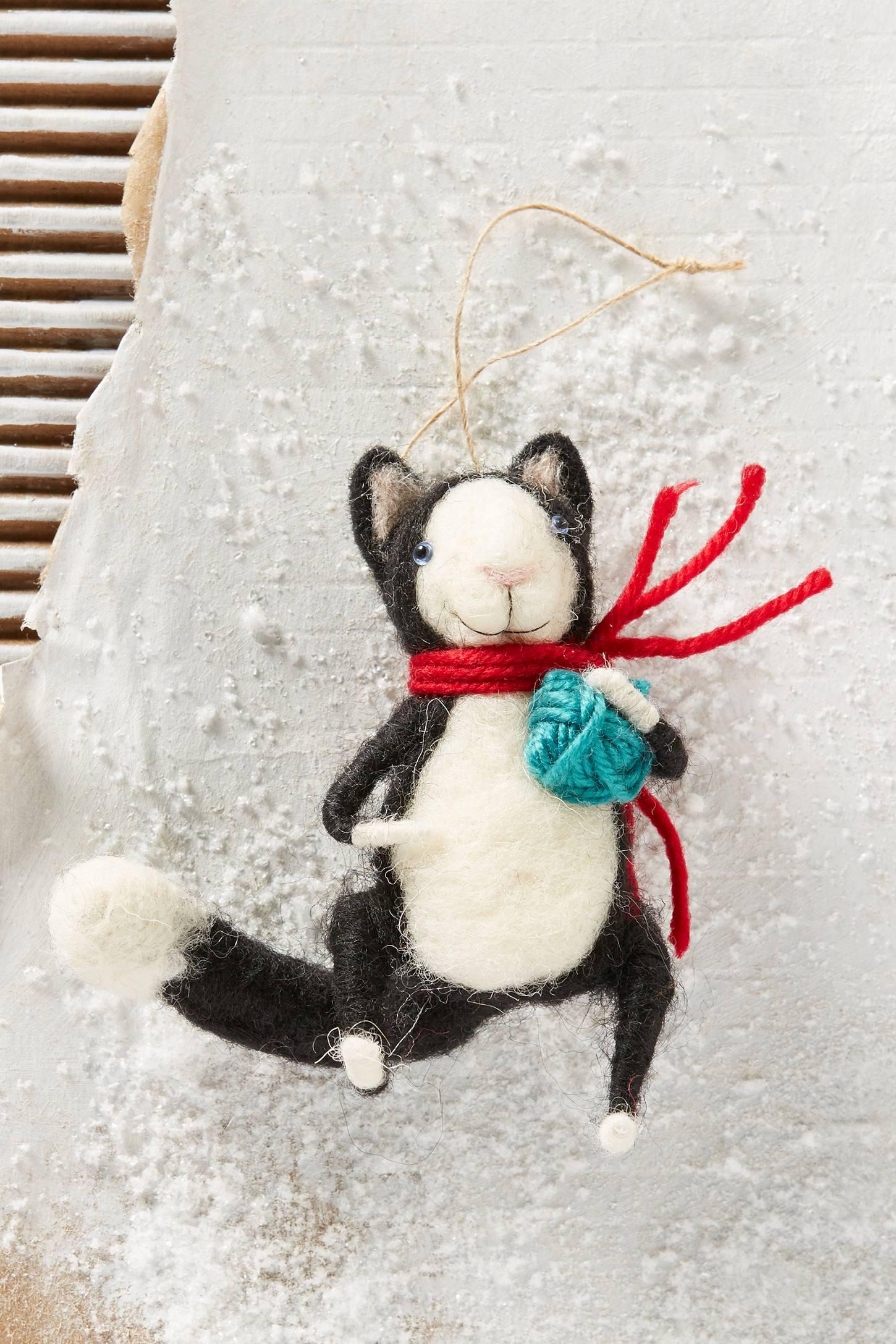 Happy Cat Ornament