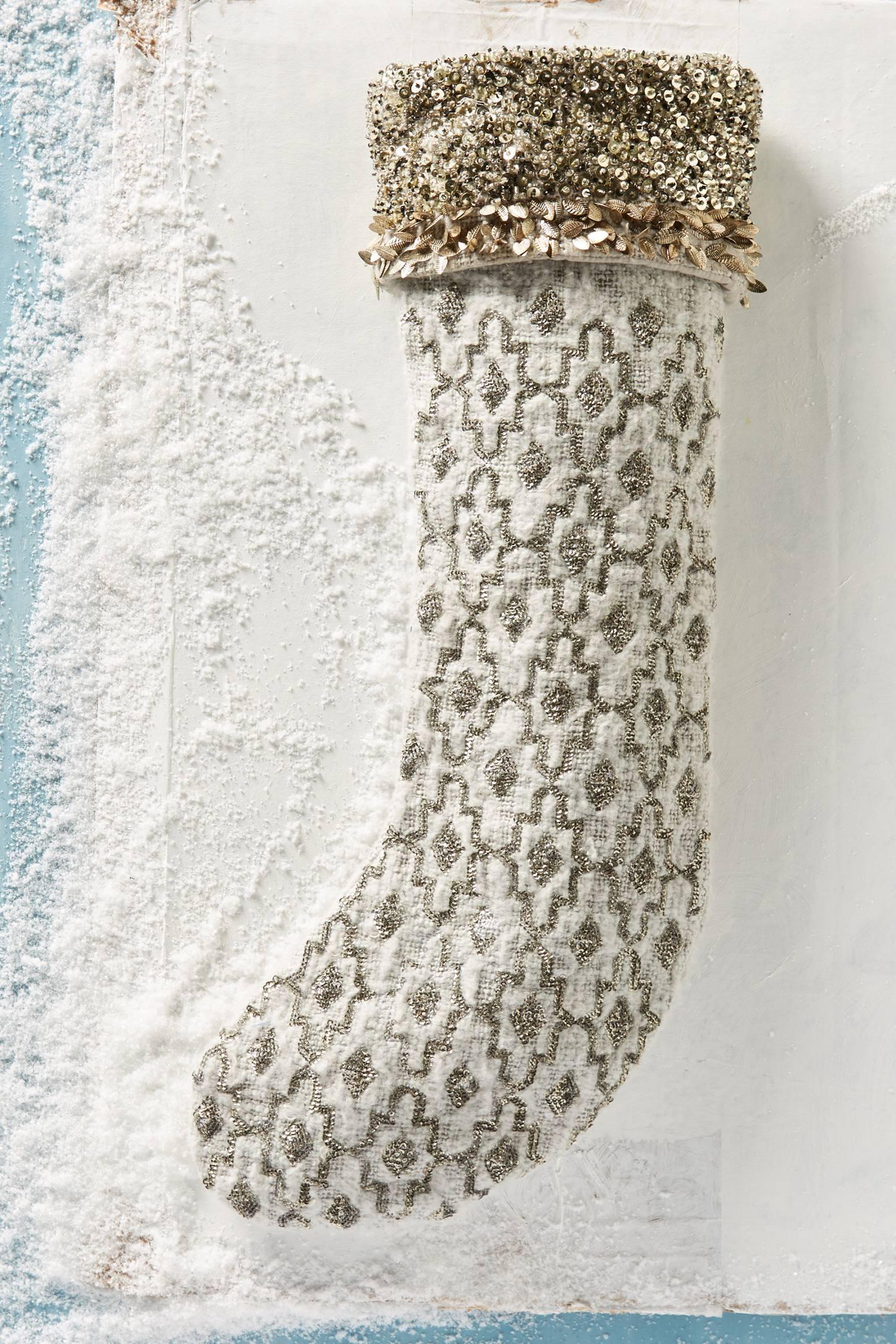 Moritz Sequined Stocking