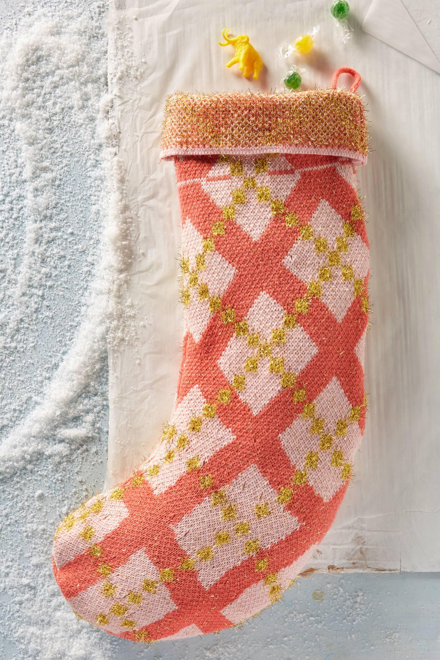 Merry Argyle Stocking