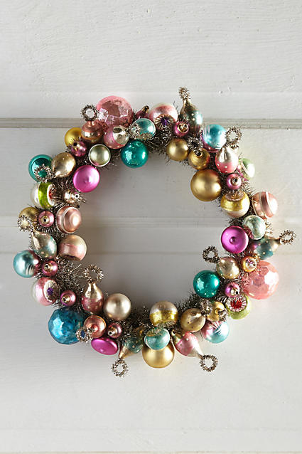Love this baubled wreath