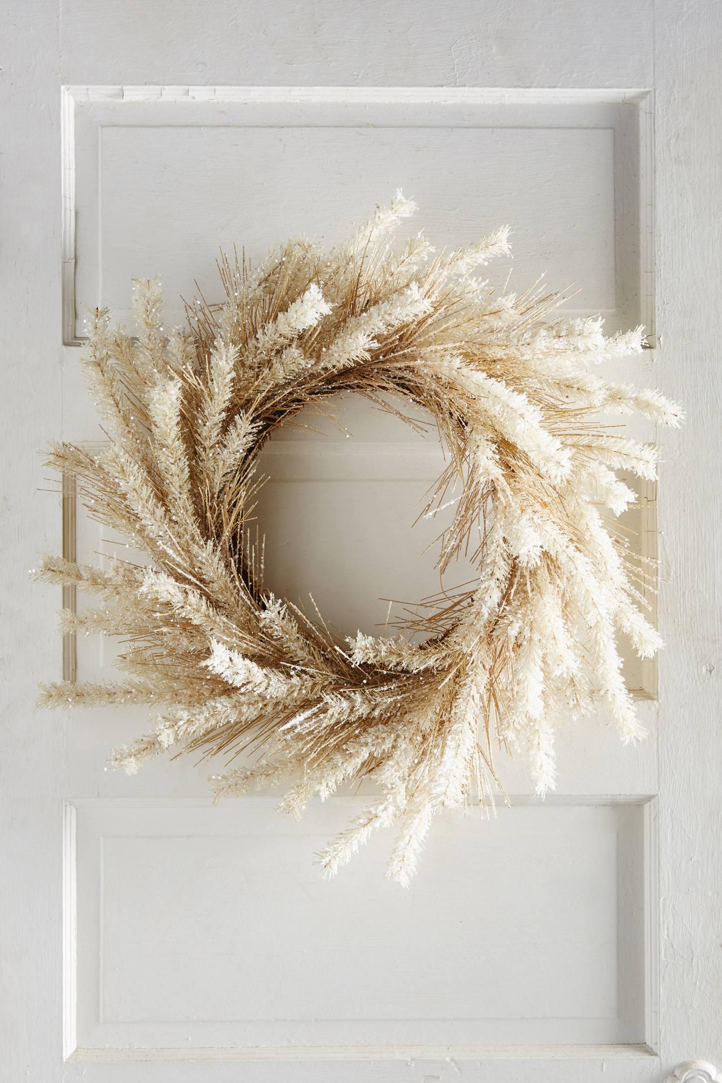 Bottlebrush Pine Wreath