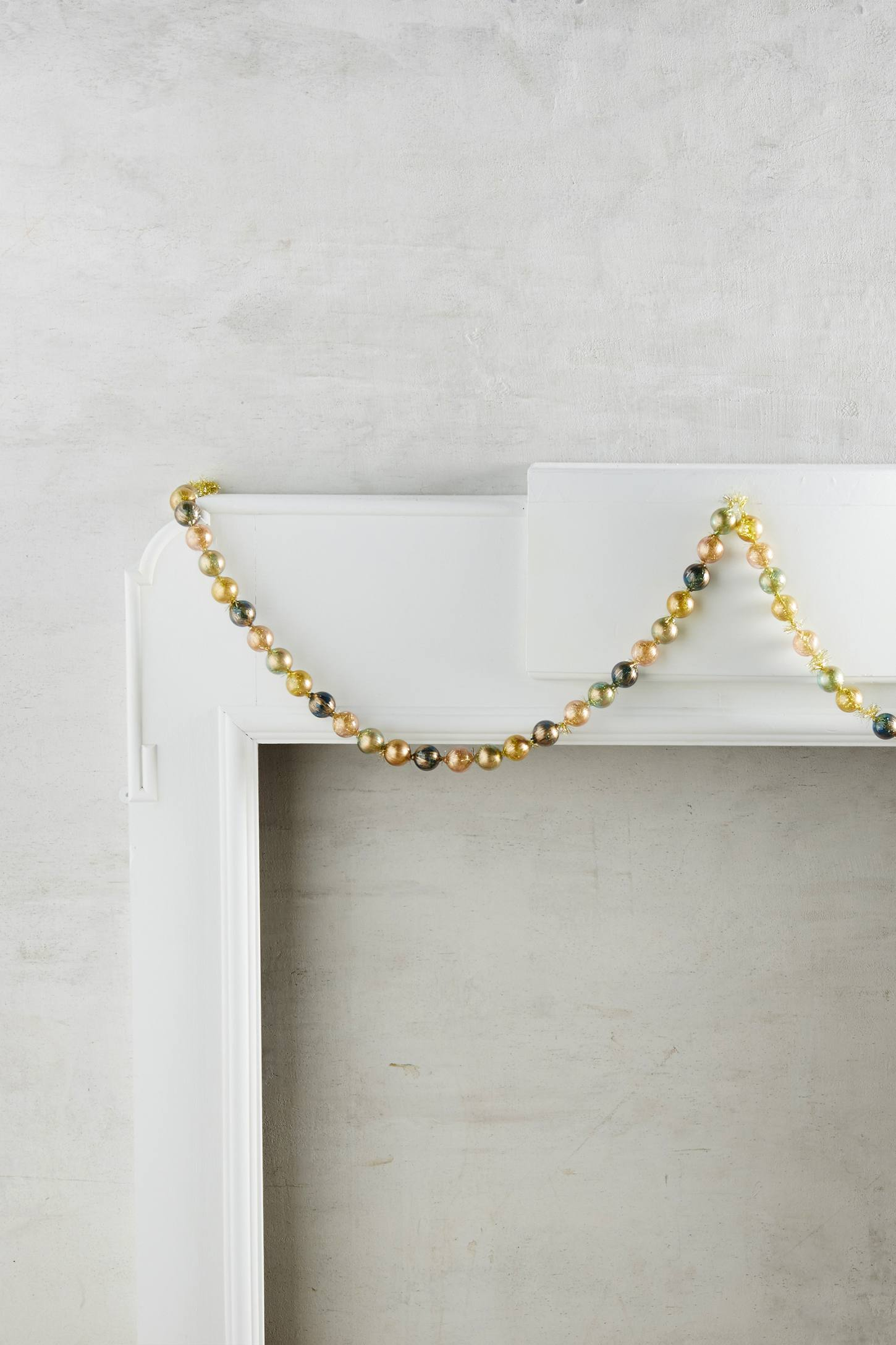 Brushed Bauble Garland