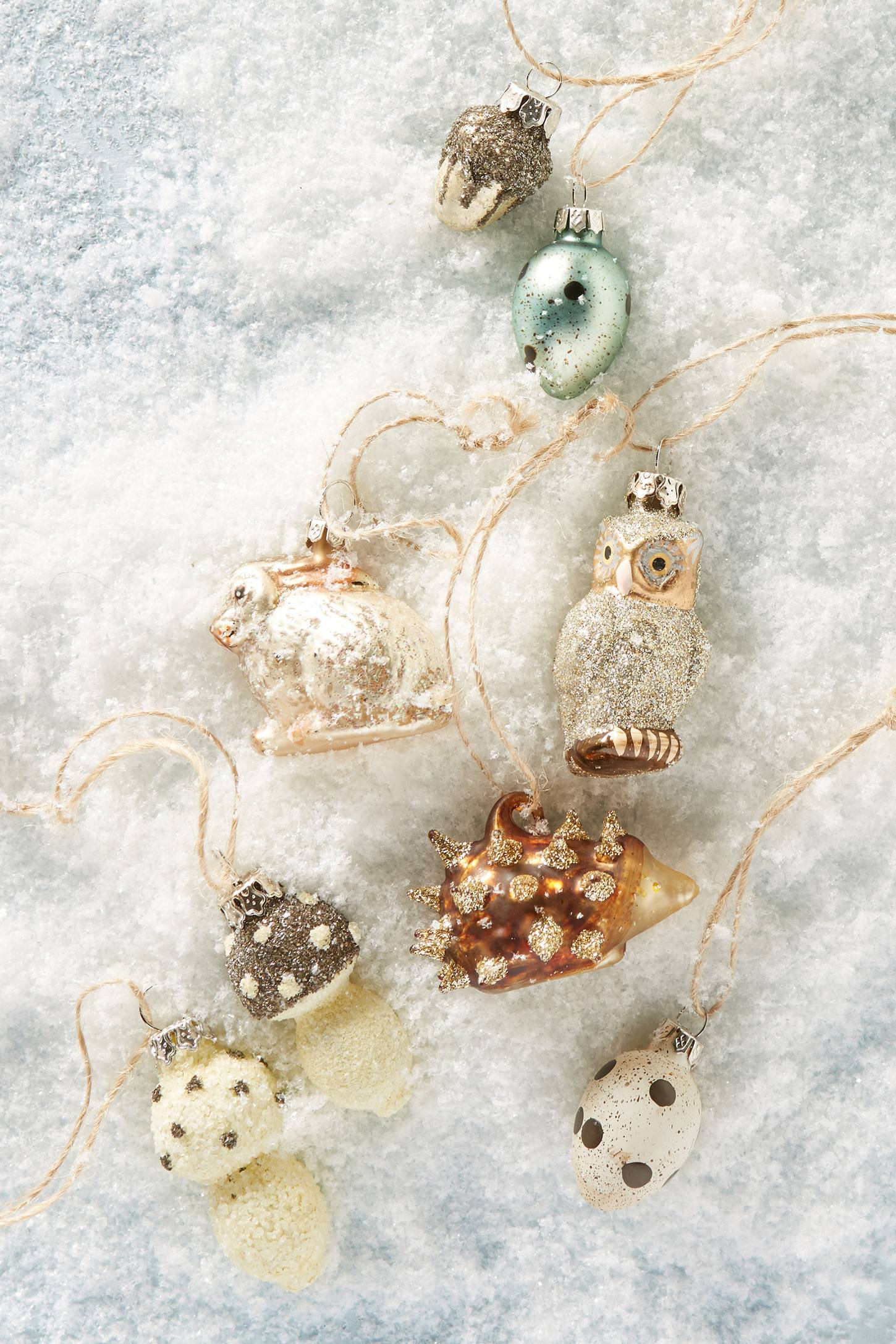 Woodland Ornament Set