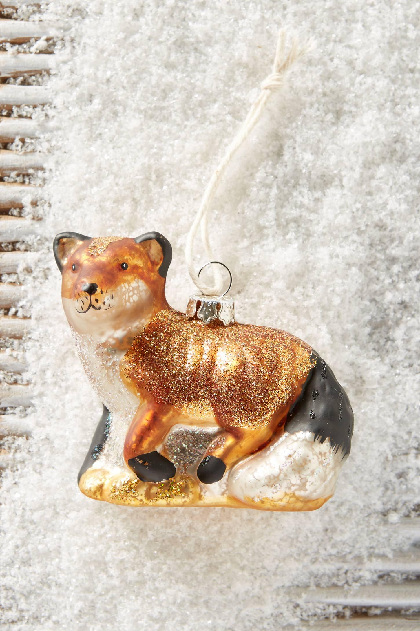 Quiet Fox Ornament