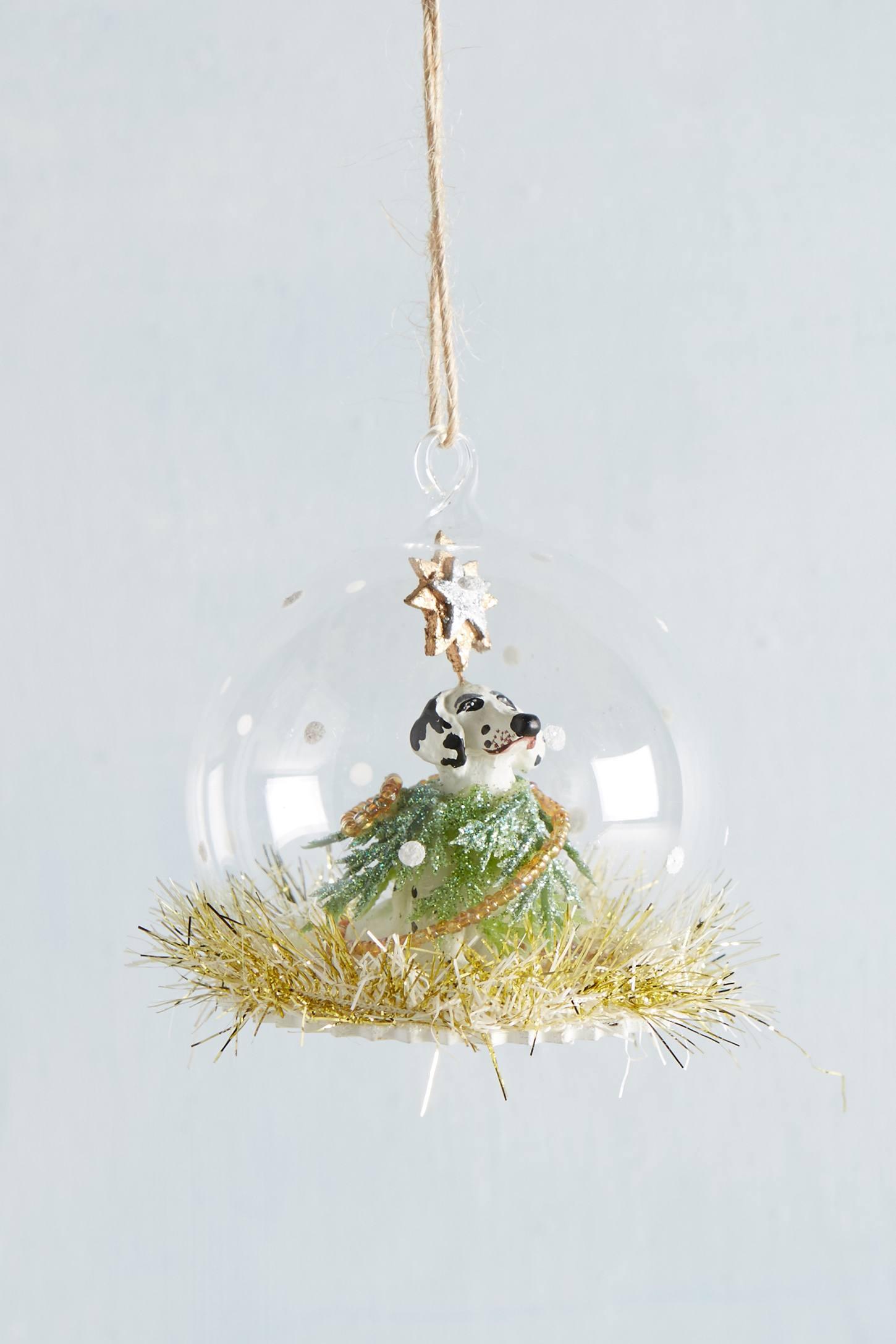 Dalmatian Snowglobe Ornament