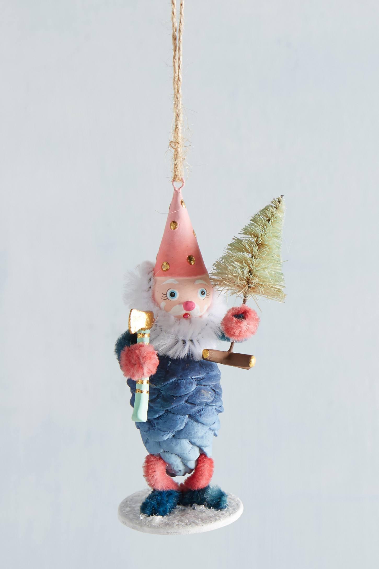 Pinecone Gnome Ornament