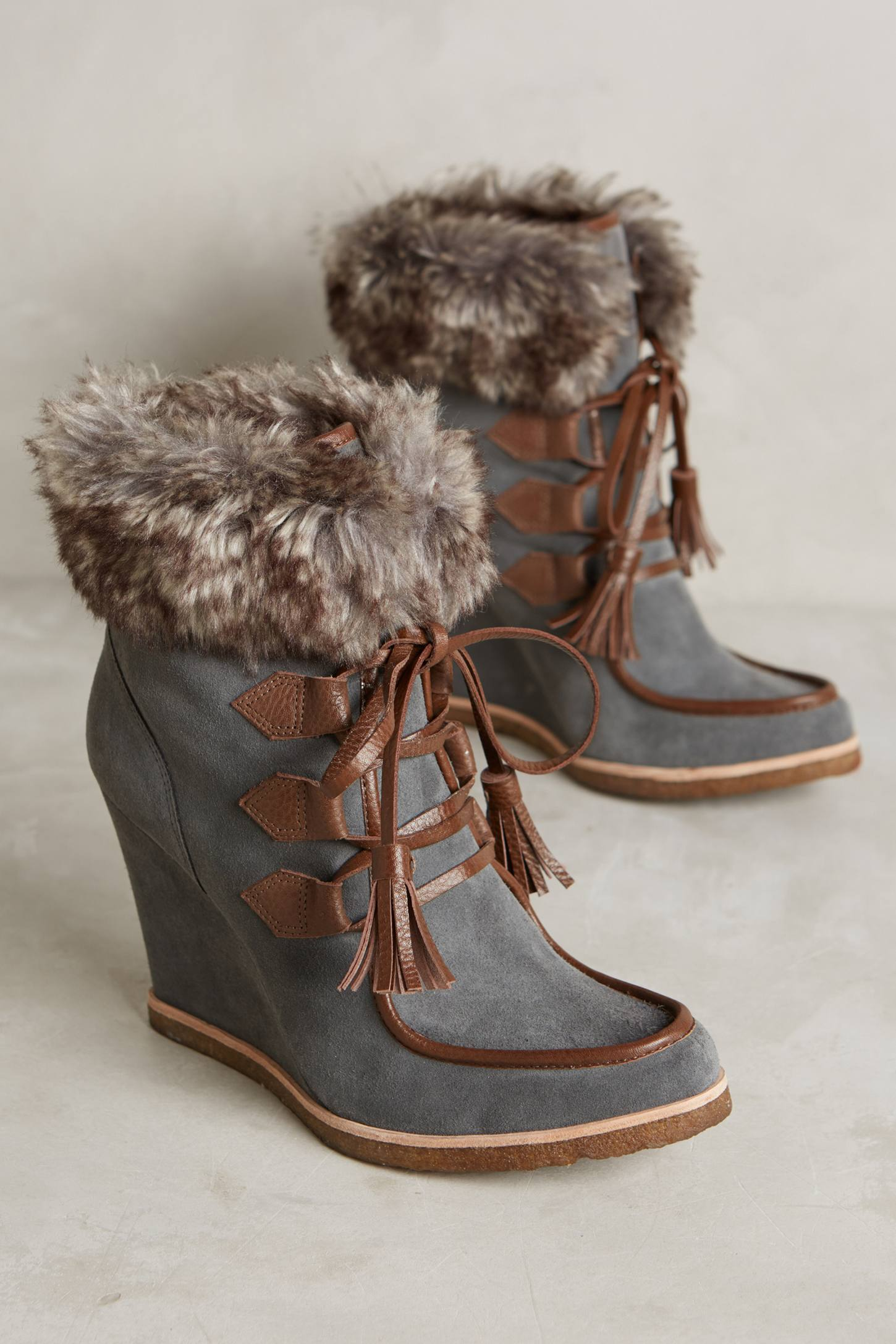 Splendid Targan Wedge Booties