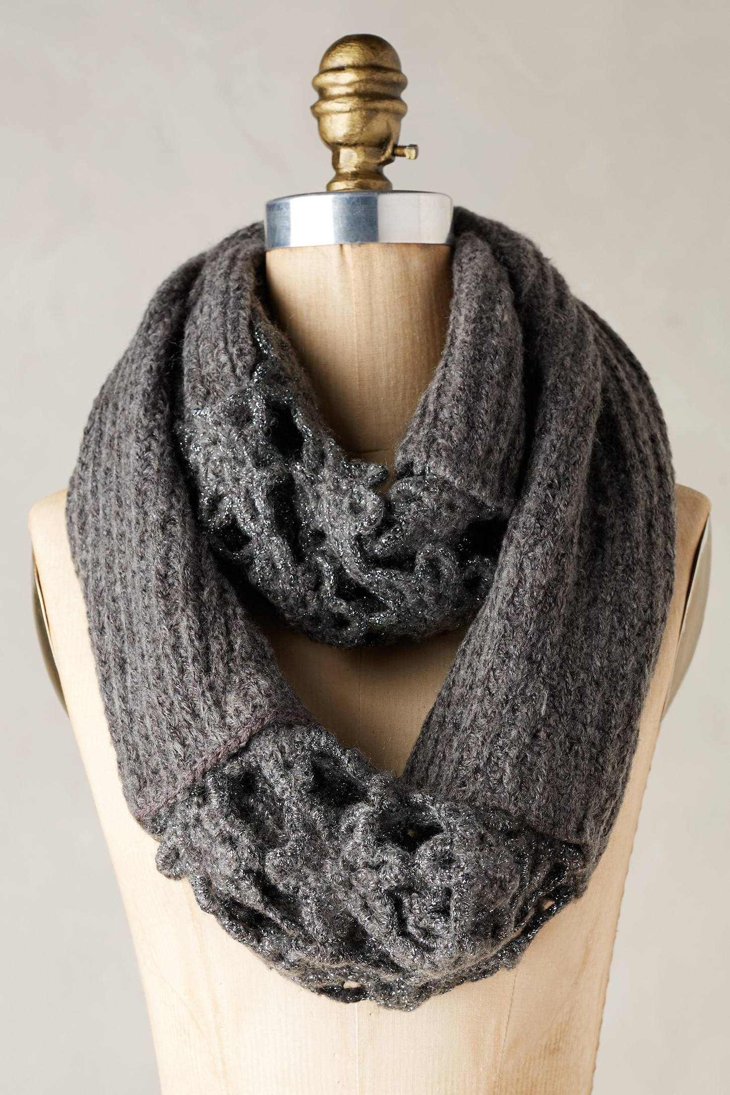 Crocheted Villarica Infinity Scarf