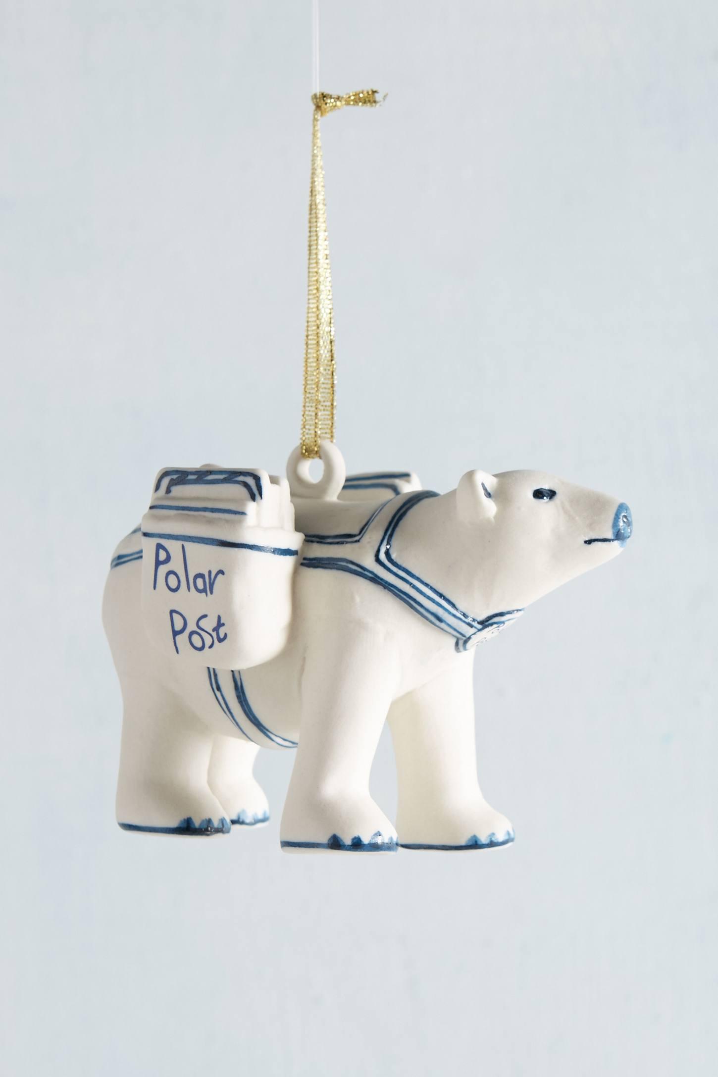 Handpainted Bear Ornament