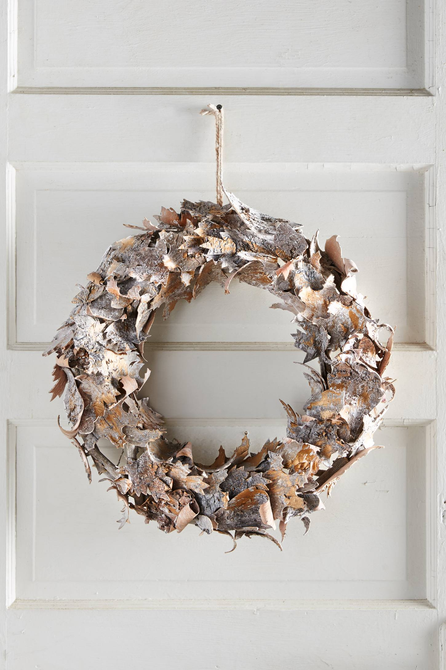 Birch Leaf Wreath