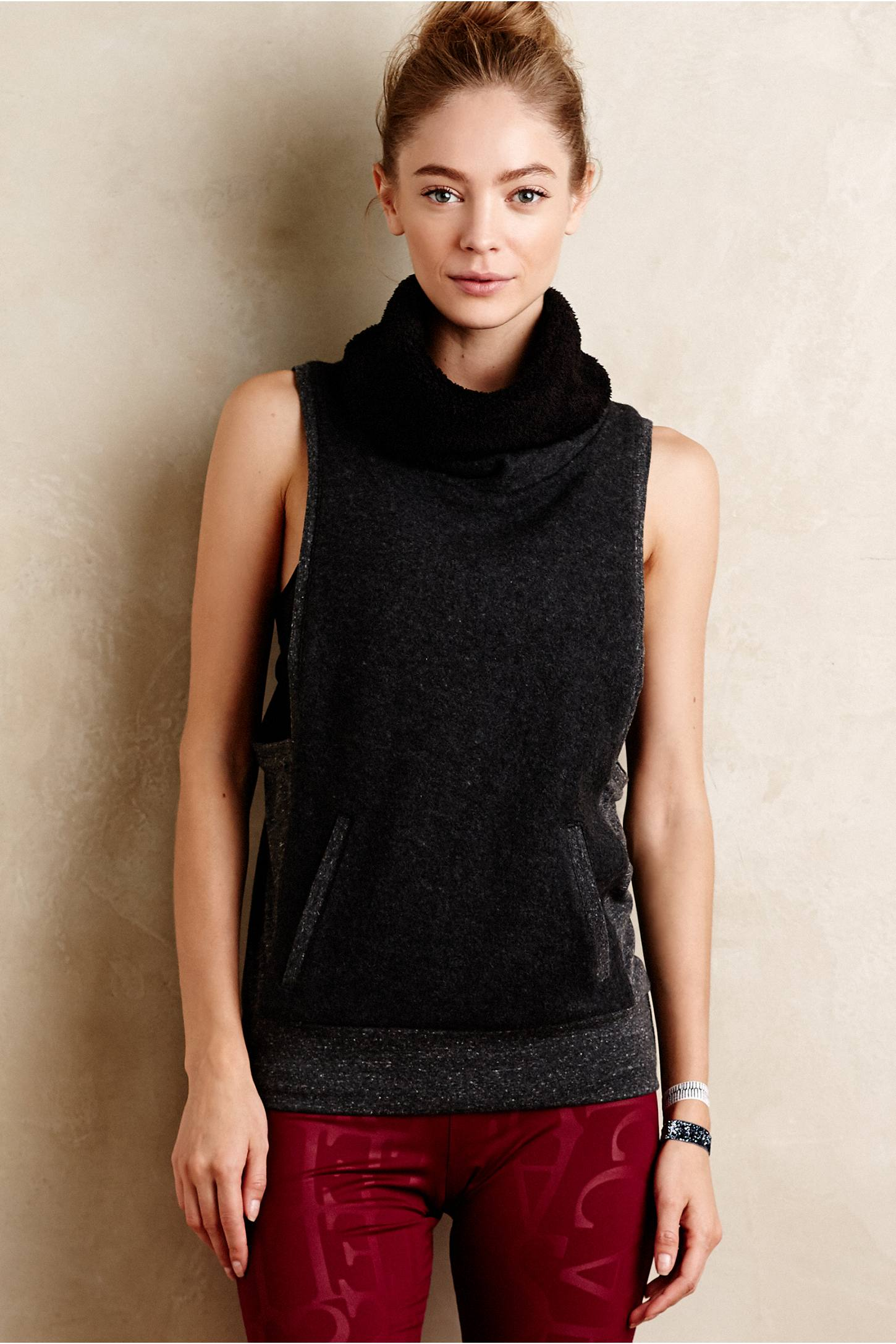 Turtleneck Studio Vest