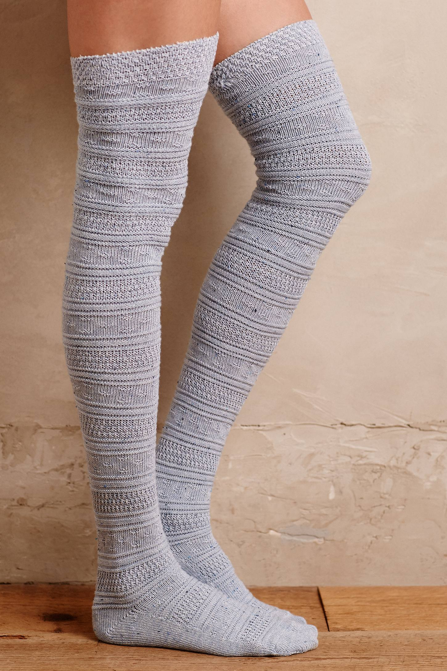 Fairisle Over-The-Knee Socks