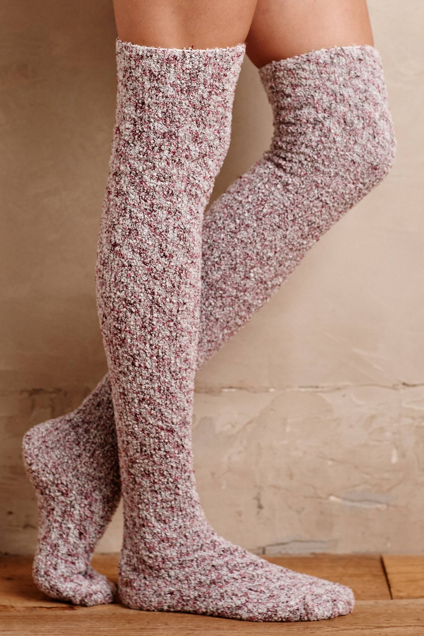 Slouched Over-The-Knee Socks