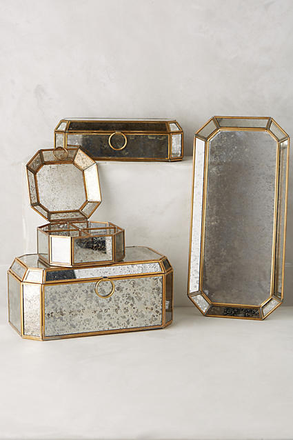 Jeweled jewelry boxes