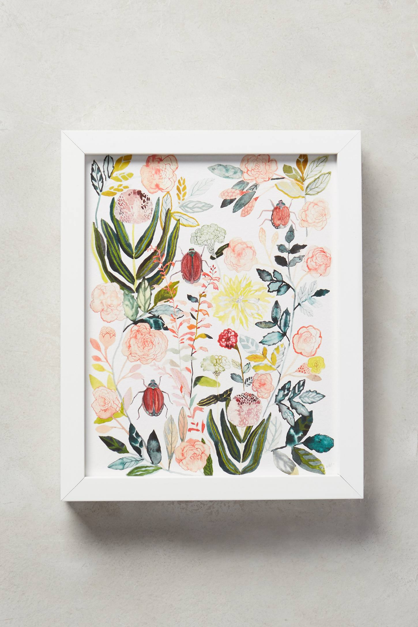 Climbing Rose Wall Art