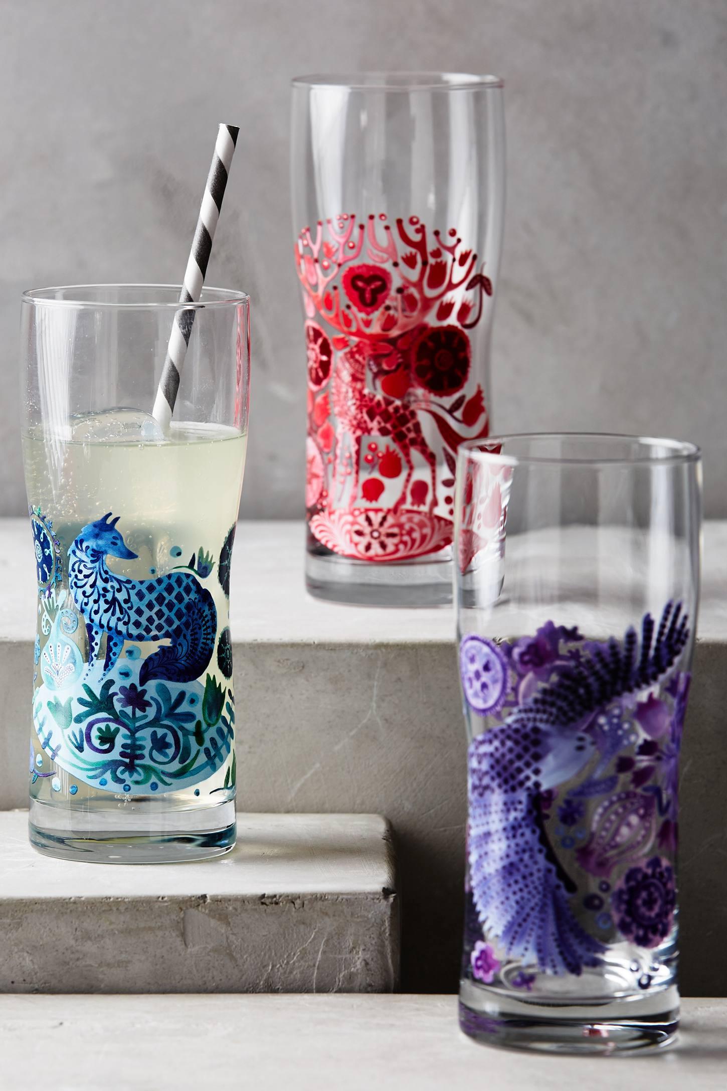 Nordic Sunrise Juice Glass