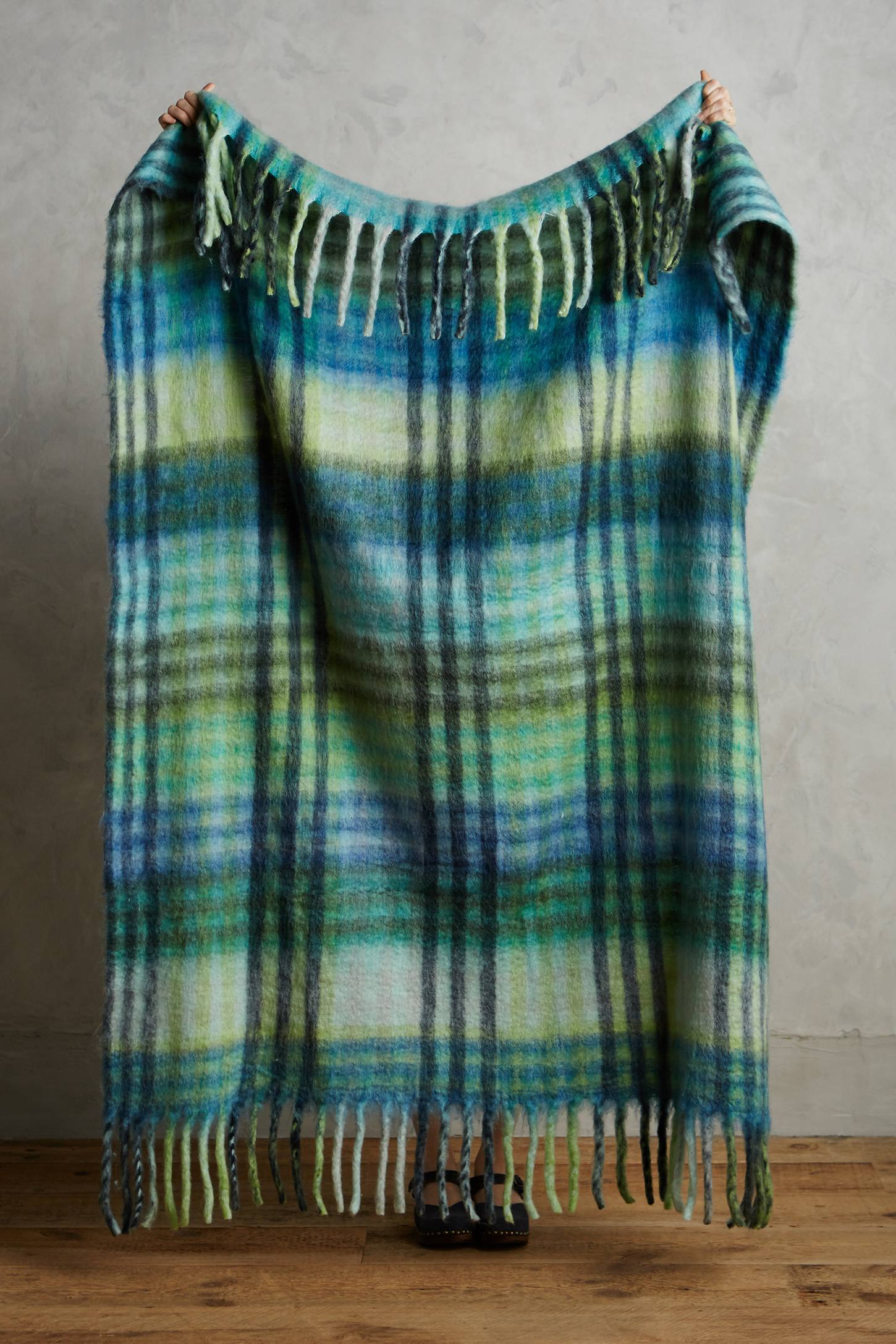 Plaid Palette Throw
