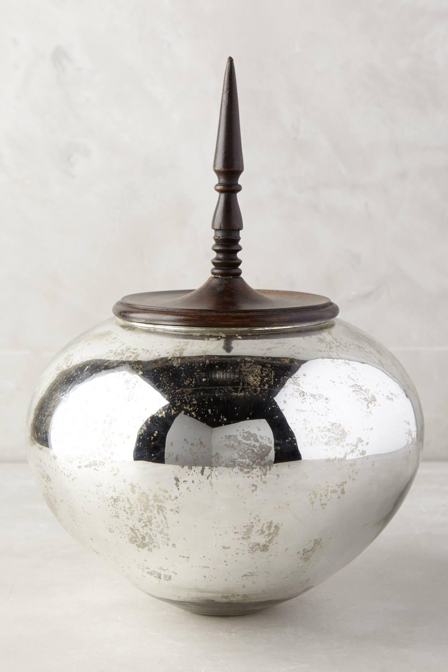 Alexandrine Glass Jar