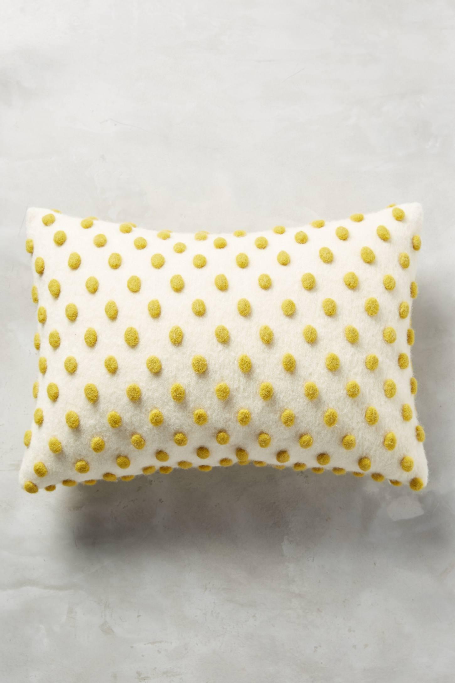 Woollen Pom Cushion