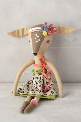 Fashionable Fauna Doll