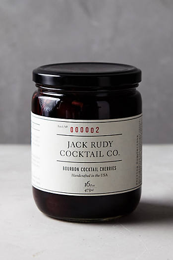 Jack Rudy Cocktail Co. Bourbon Cherries