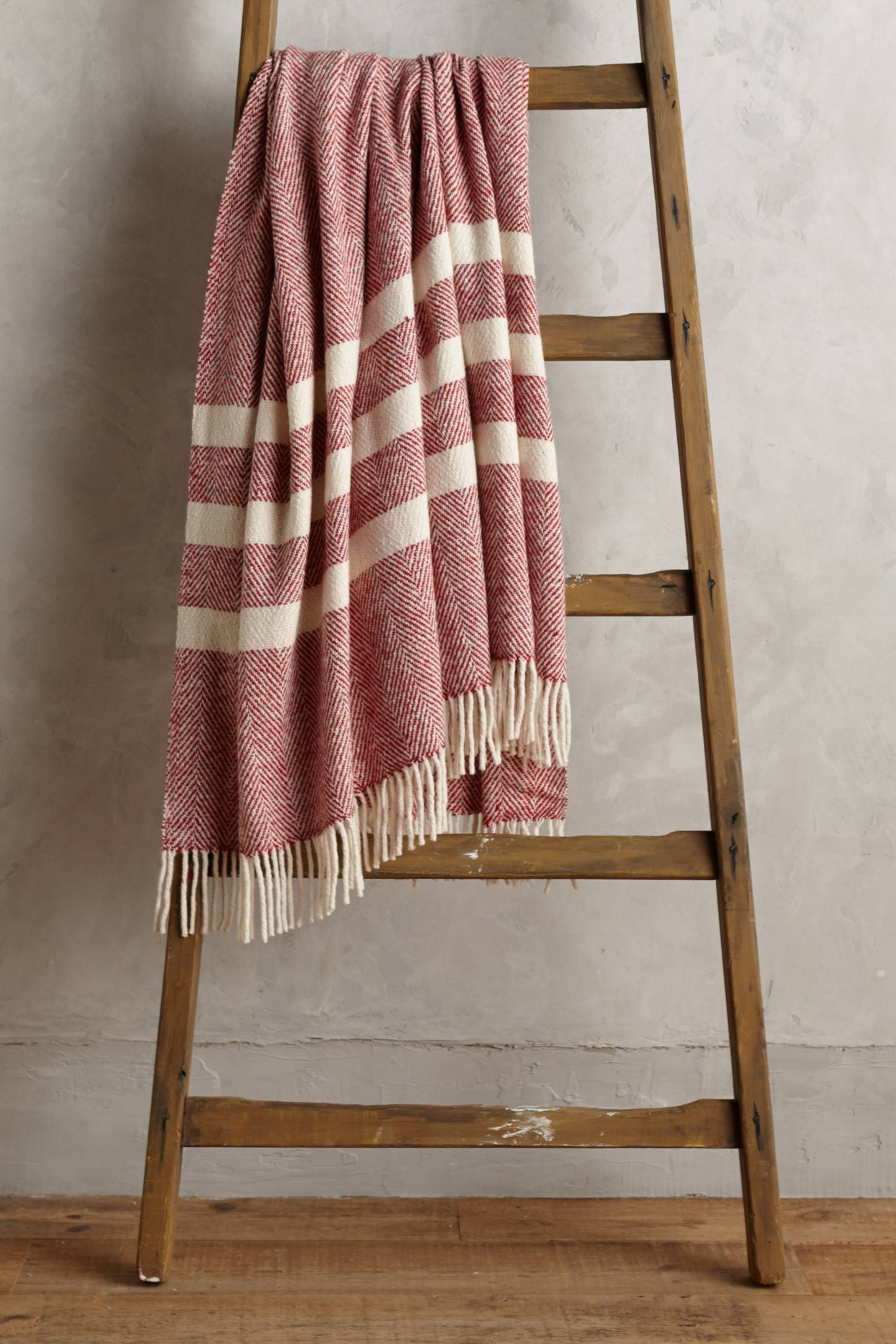 Wool Herringbone Throw