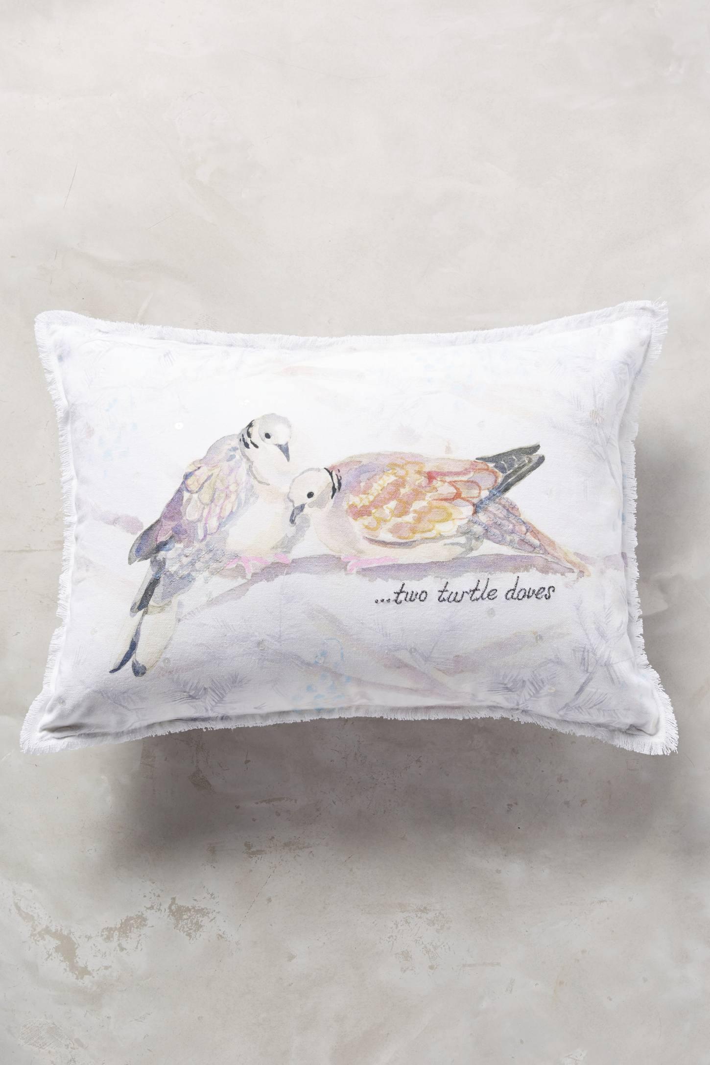 Twelve Days Pillow