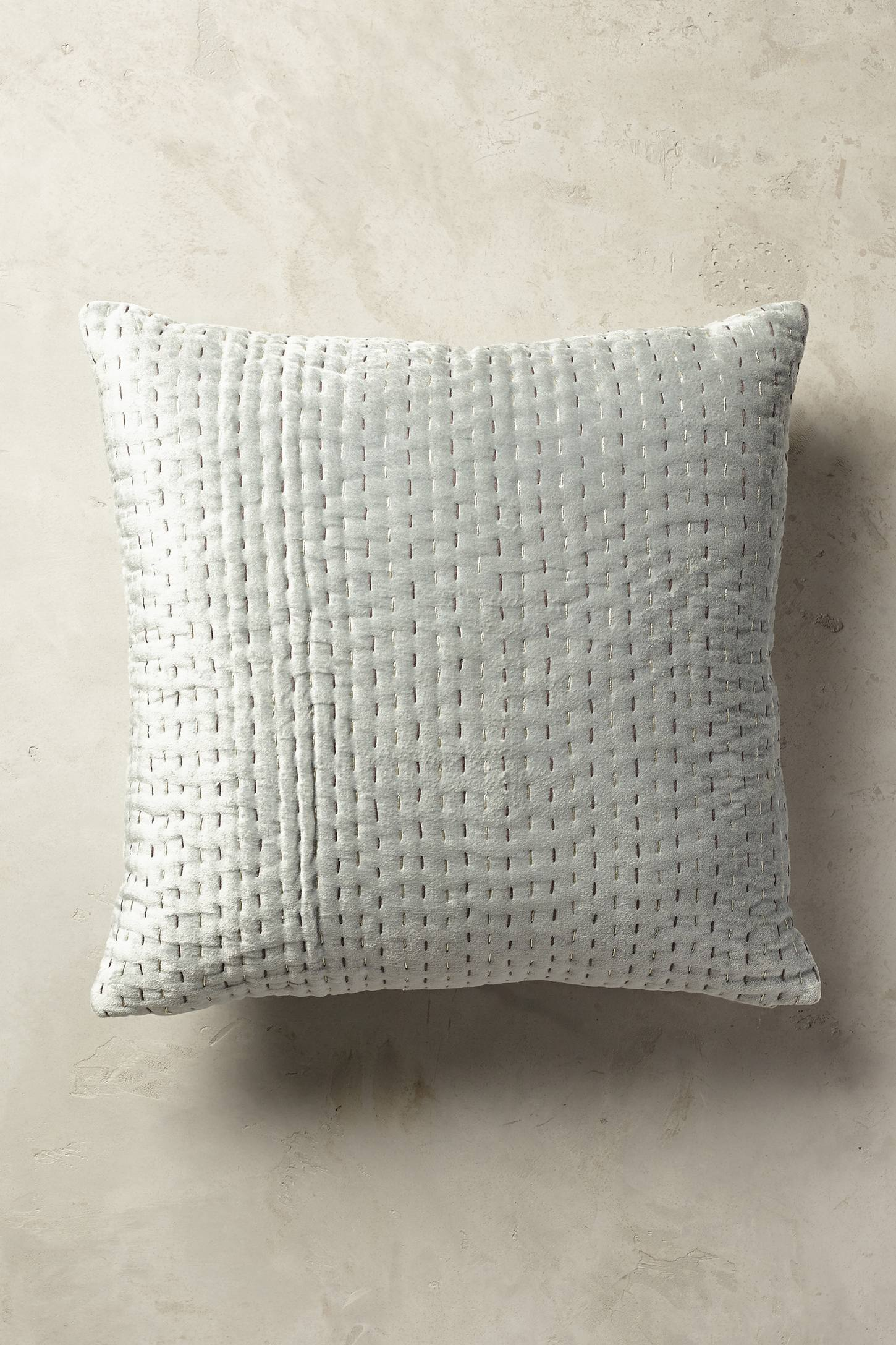 Glimmer Stitched Pillow