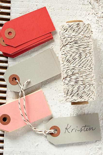 Cute wrap up twine and gift tags