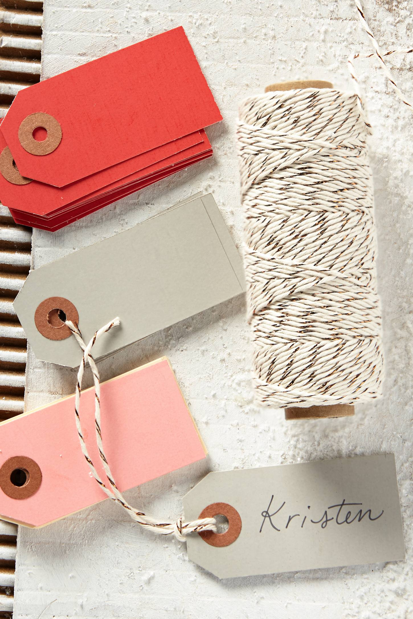 Wrap-Up Twine & Gift Tags