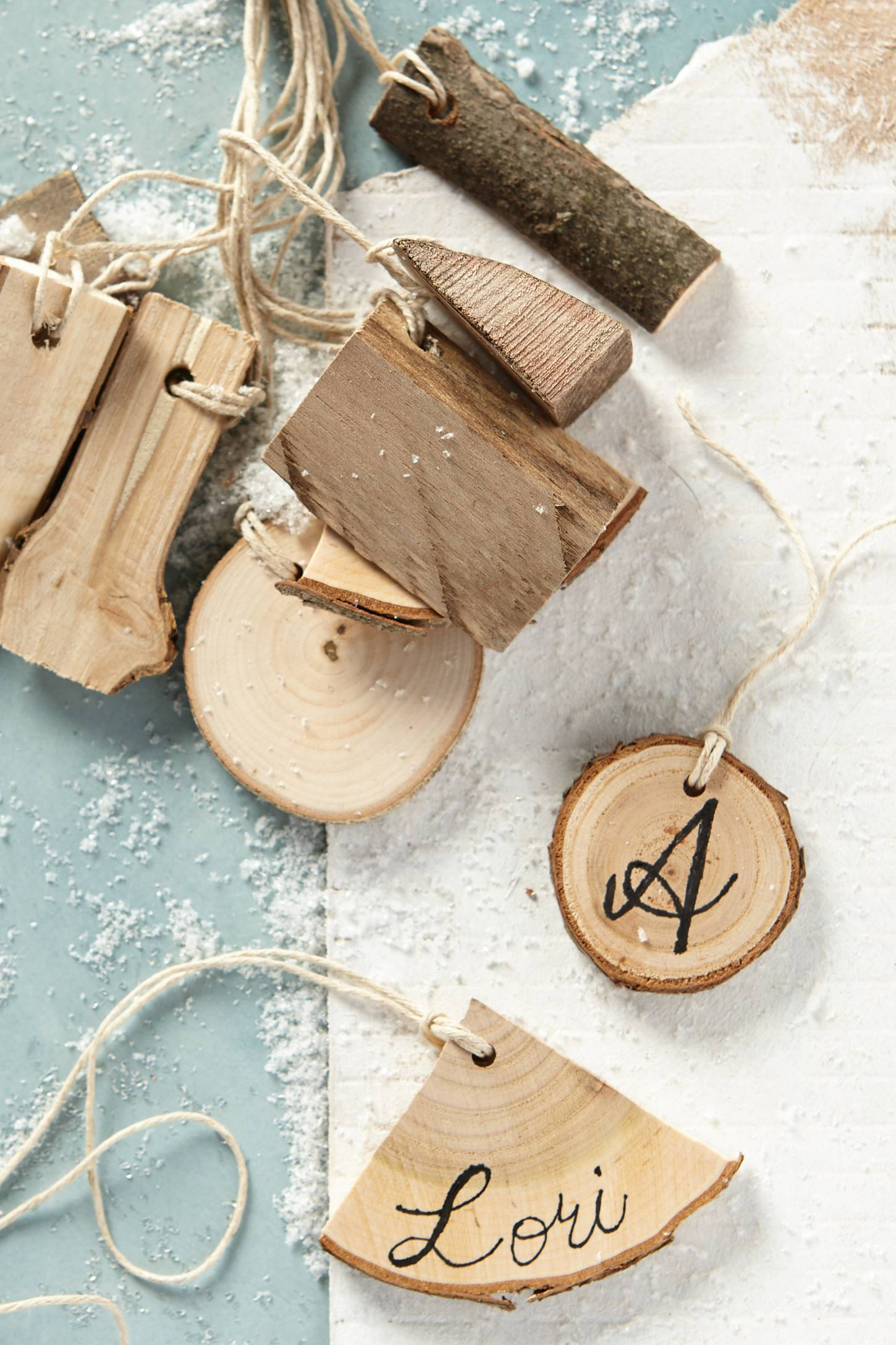 Tree Bark Gift Tags