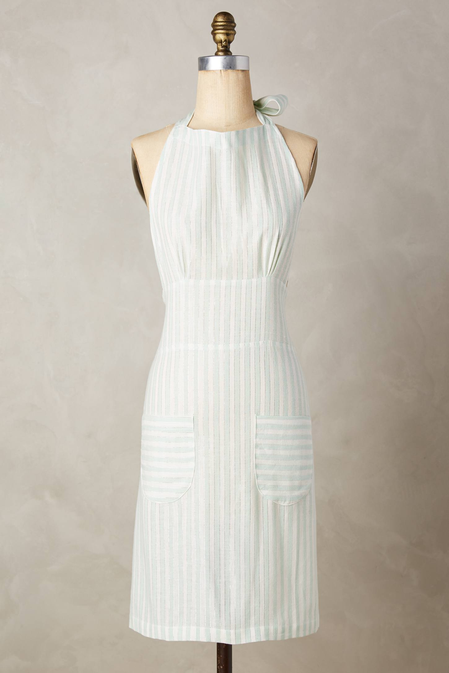 Shimmer Stripe Apron from Anthropologie
