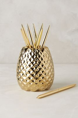 Pineapple Pencil Holder