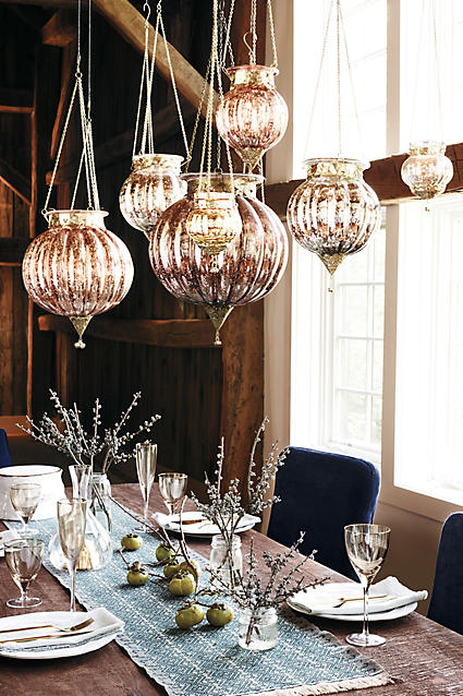 Gorgeous mercury lanterns