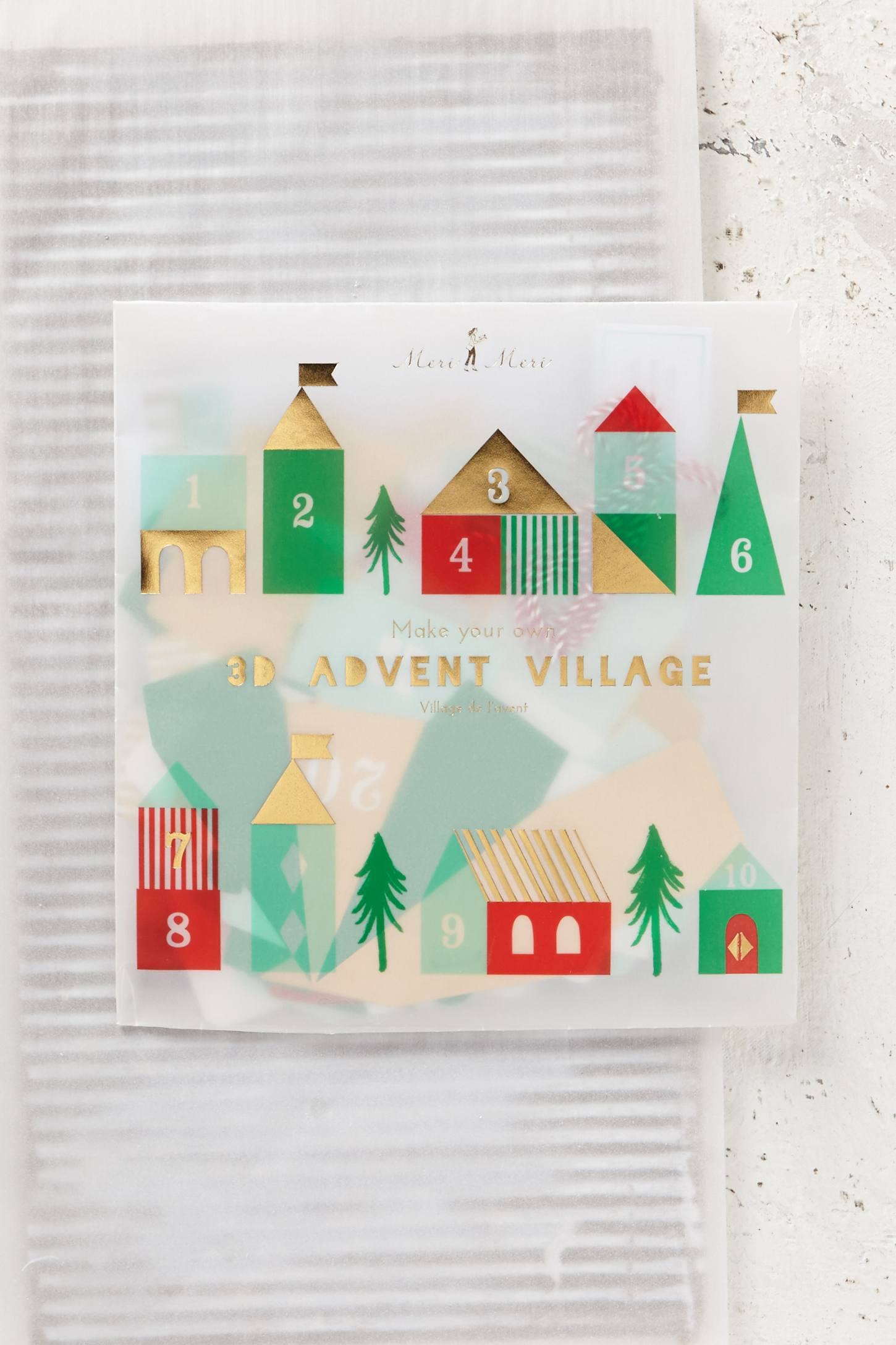 Village Houses Advent Calendar