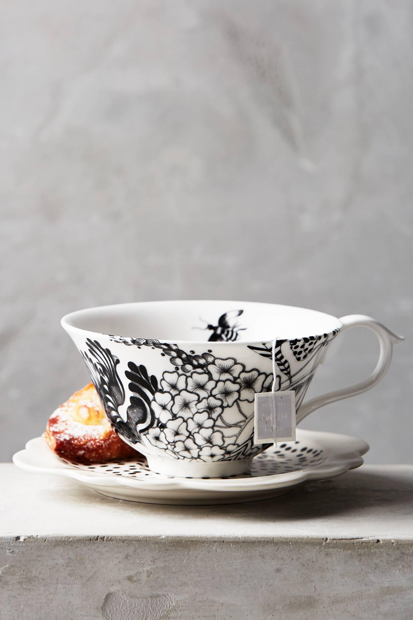 Wild Masquerade Tea Cup & Saucer