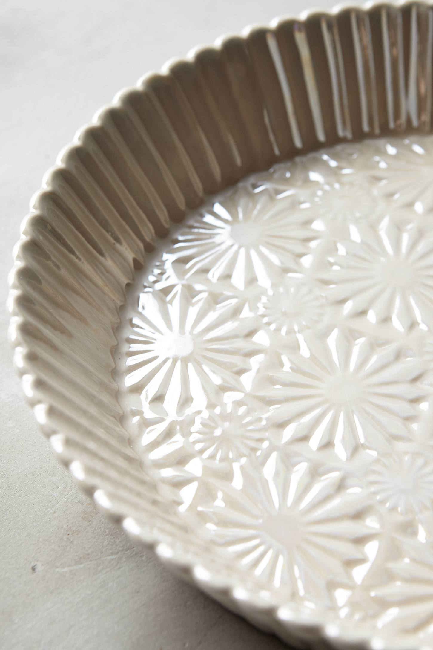 Raised Bloom Pie Pan