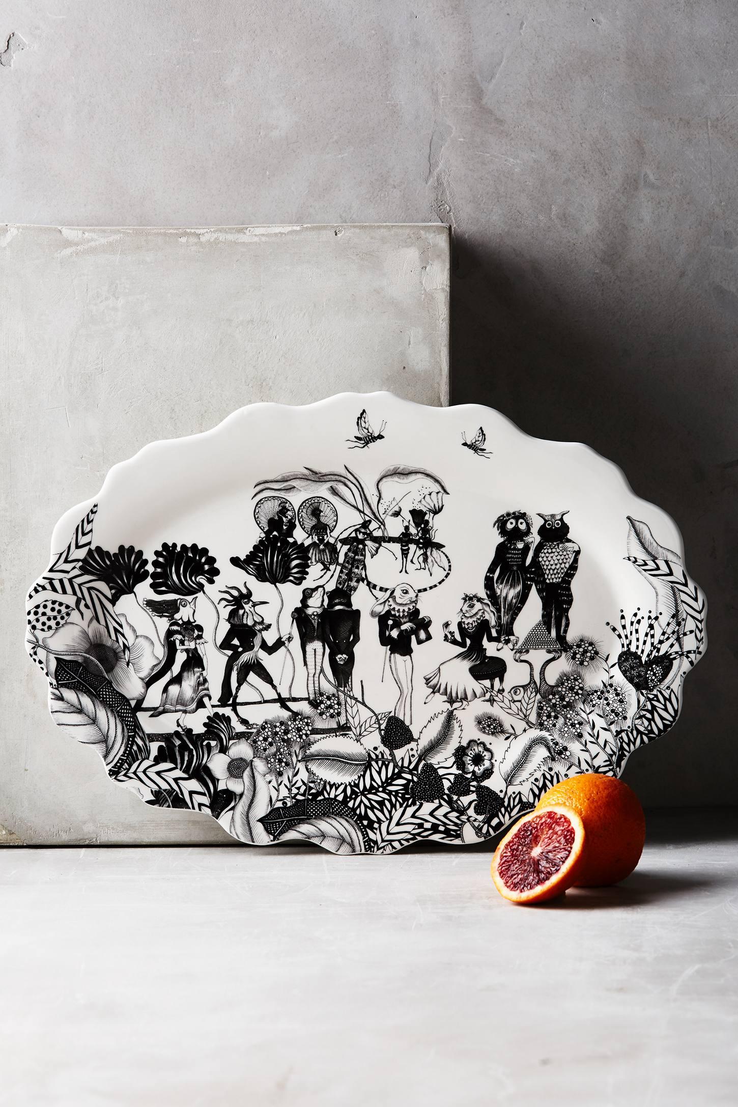Wild Masquerade Platter