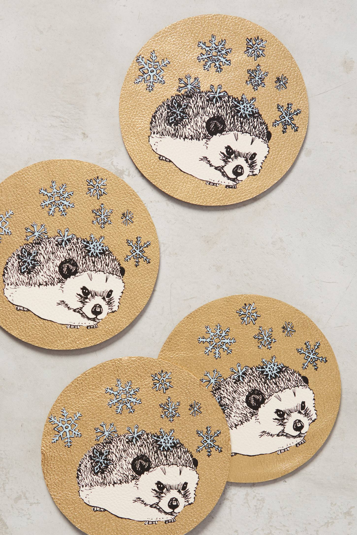 Forest Merriment Coasters
