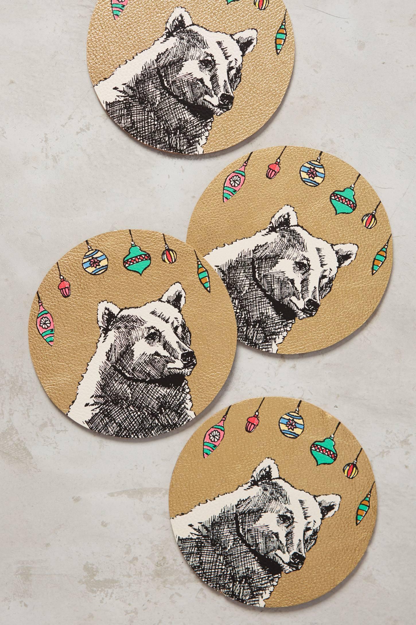 Tundra Coaster Set