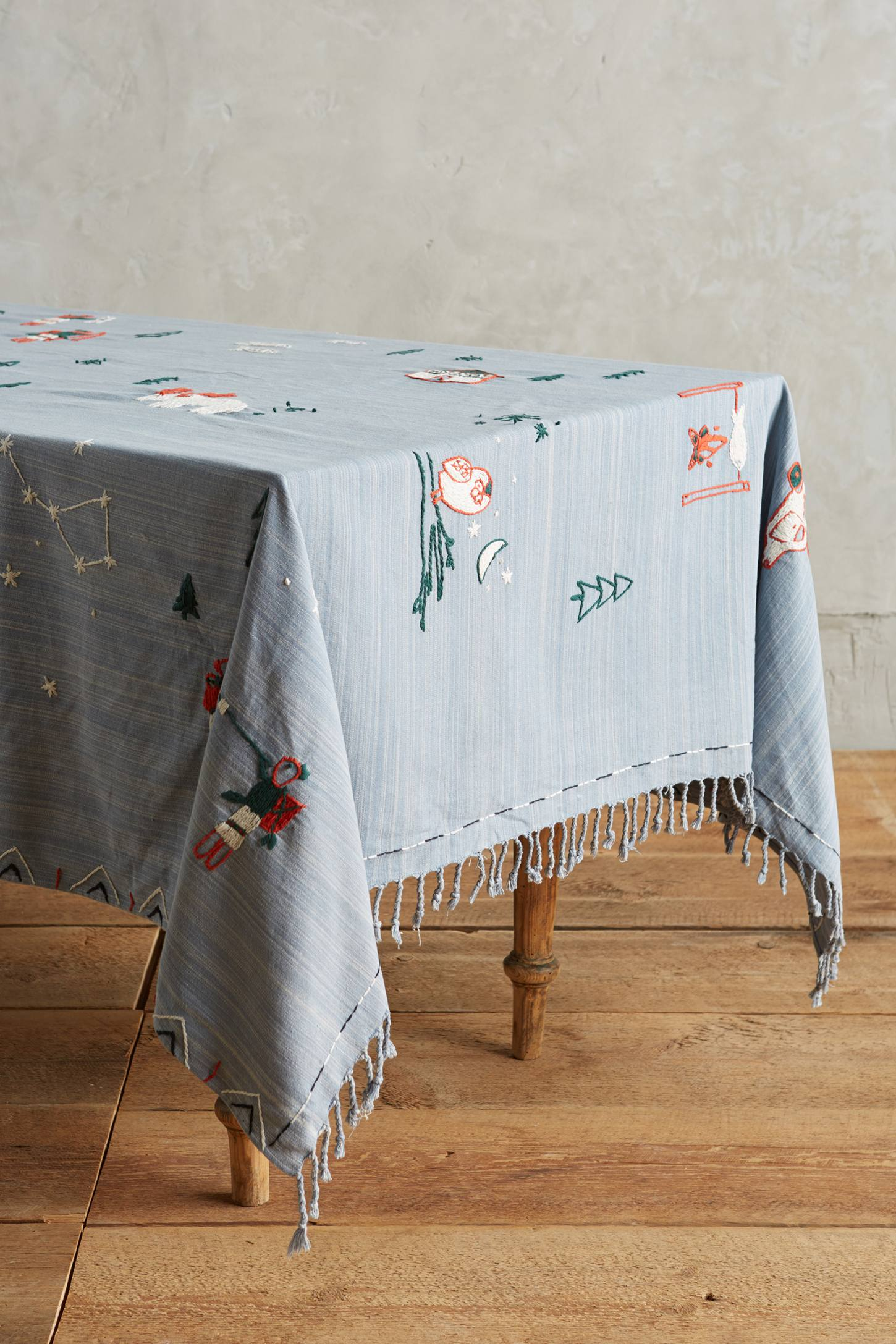 Arctic Village Tablecloth