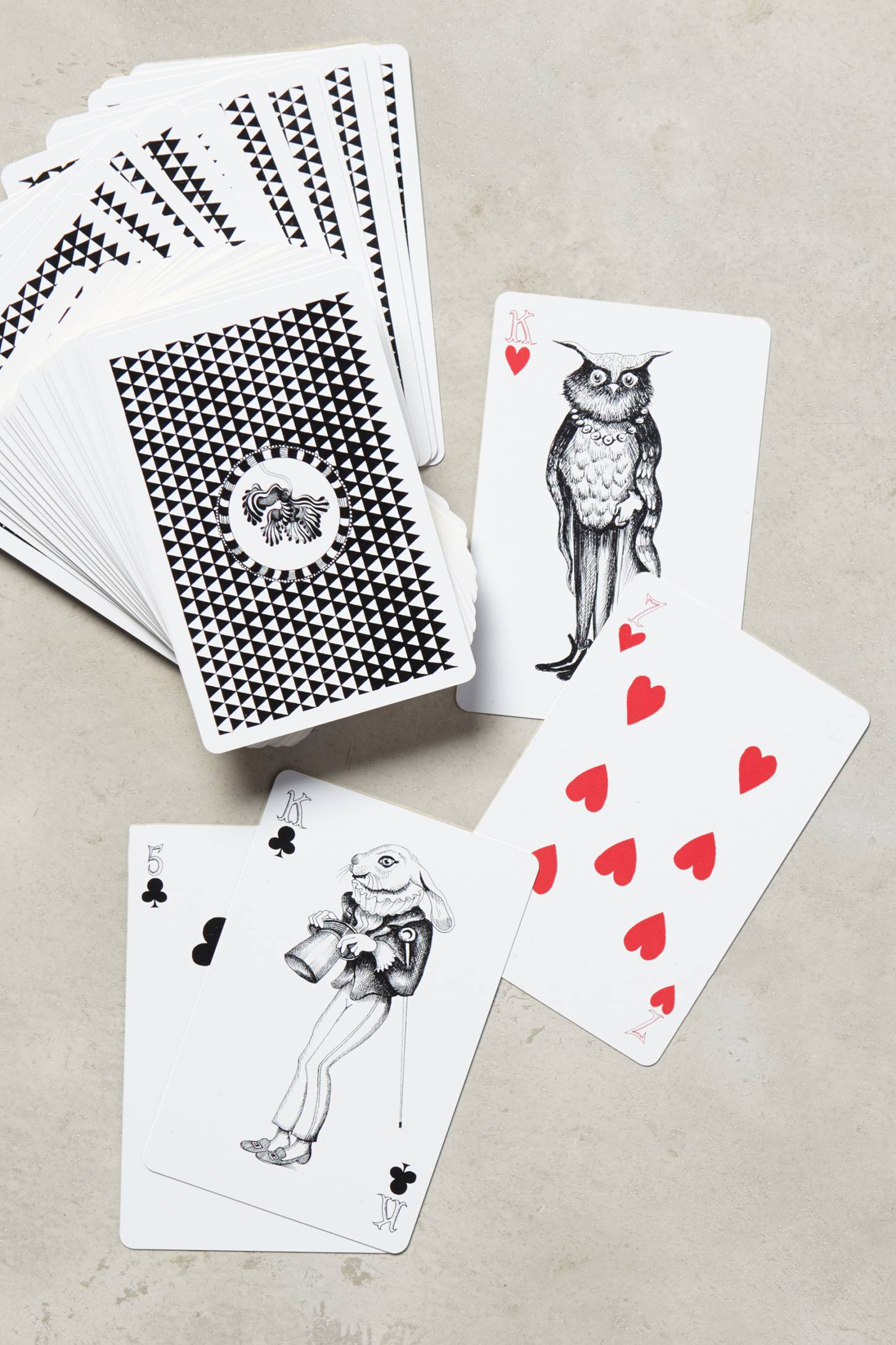 Wild Masquerade Playing Cards