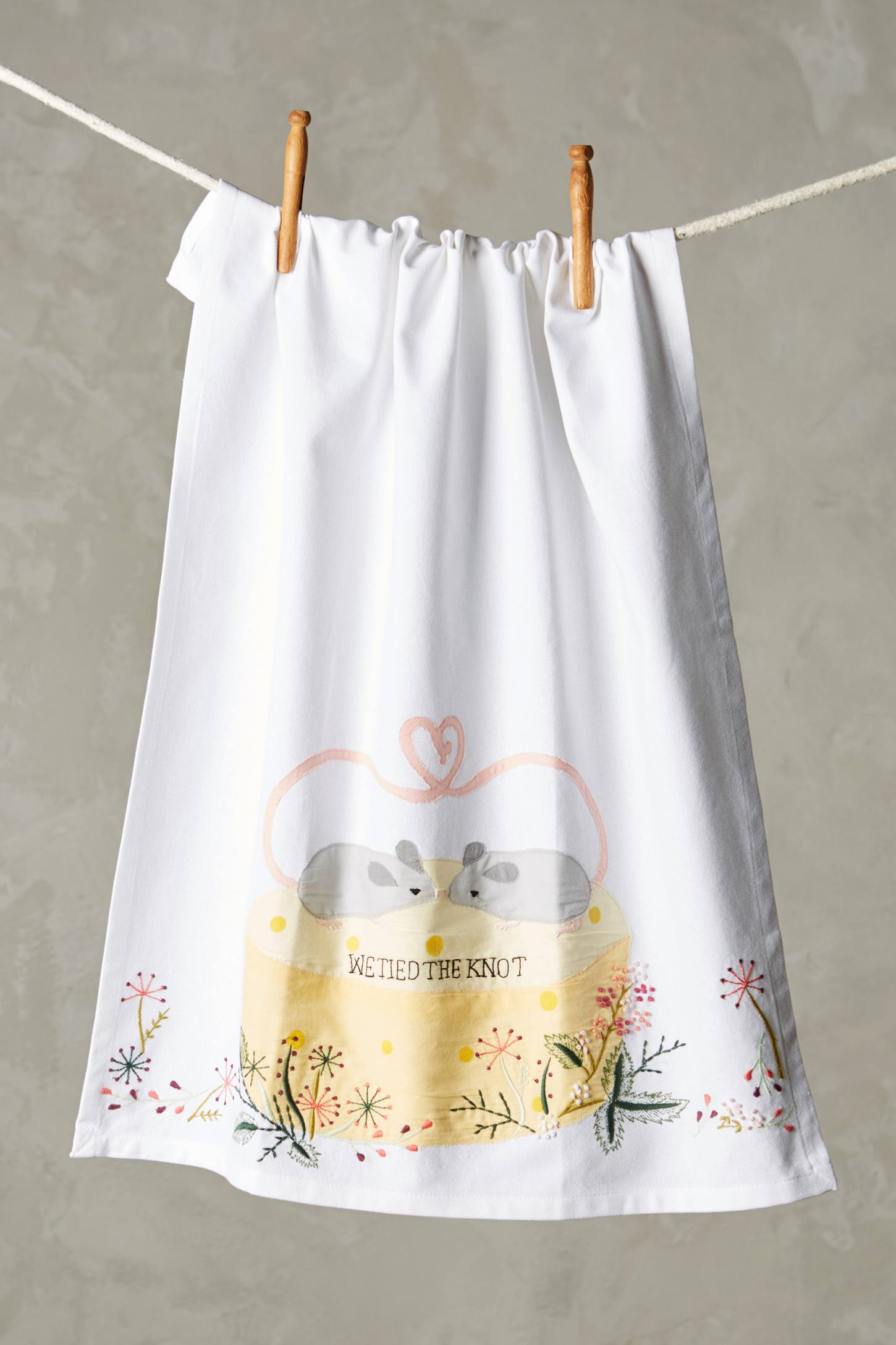 Tied The Knot Tea Towel