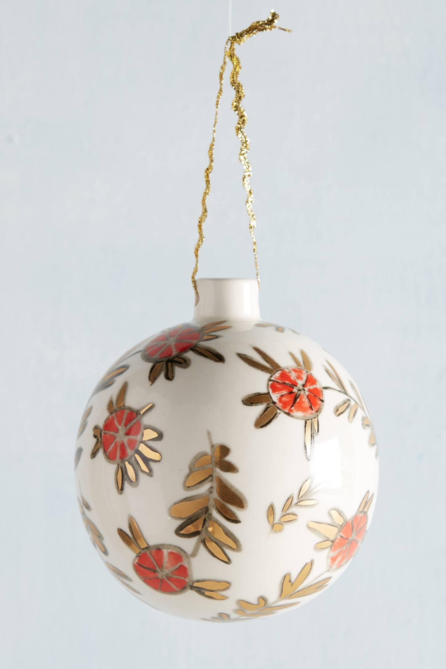 Ceramic Cheer Ornament