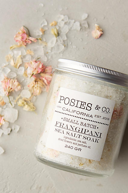 Frangipani sea salt soak
