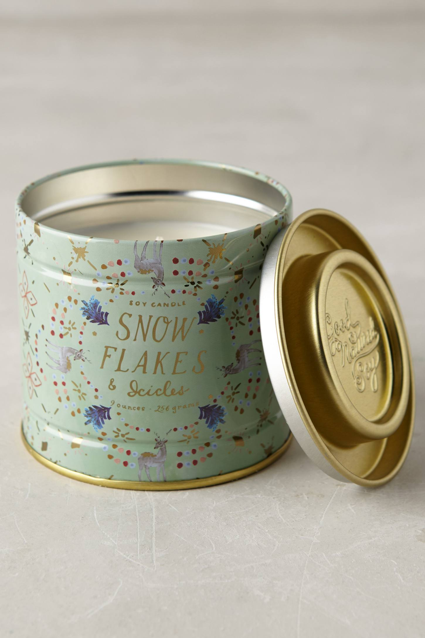 Snowflora Soy Candle