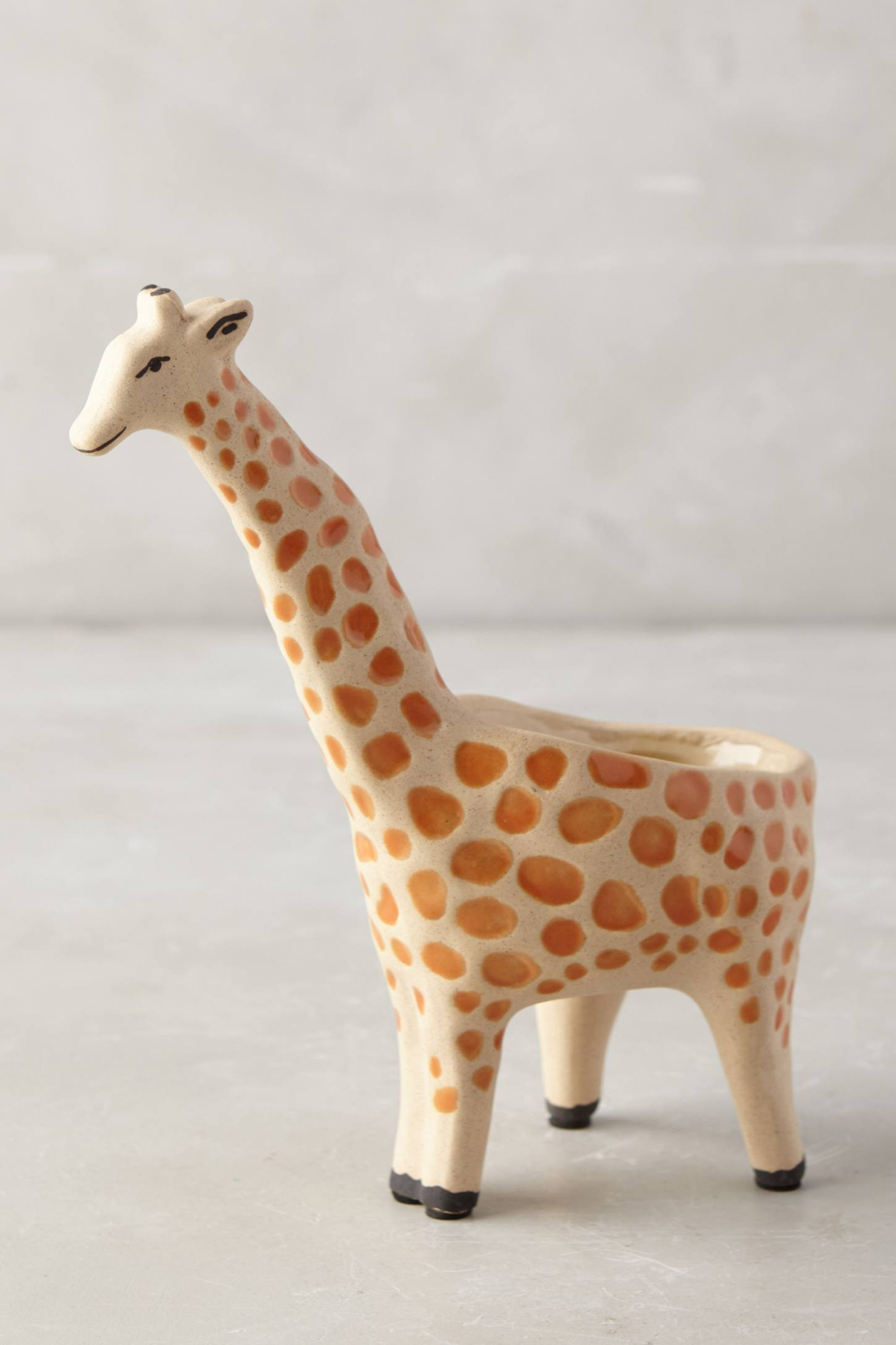 Wild Wanderer Giraffe Planter