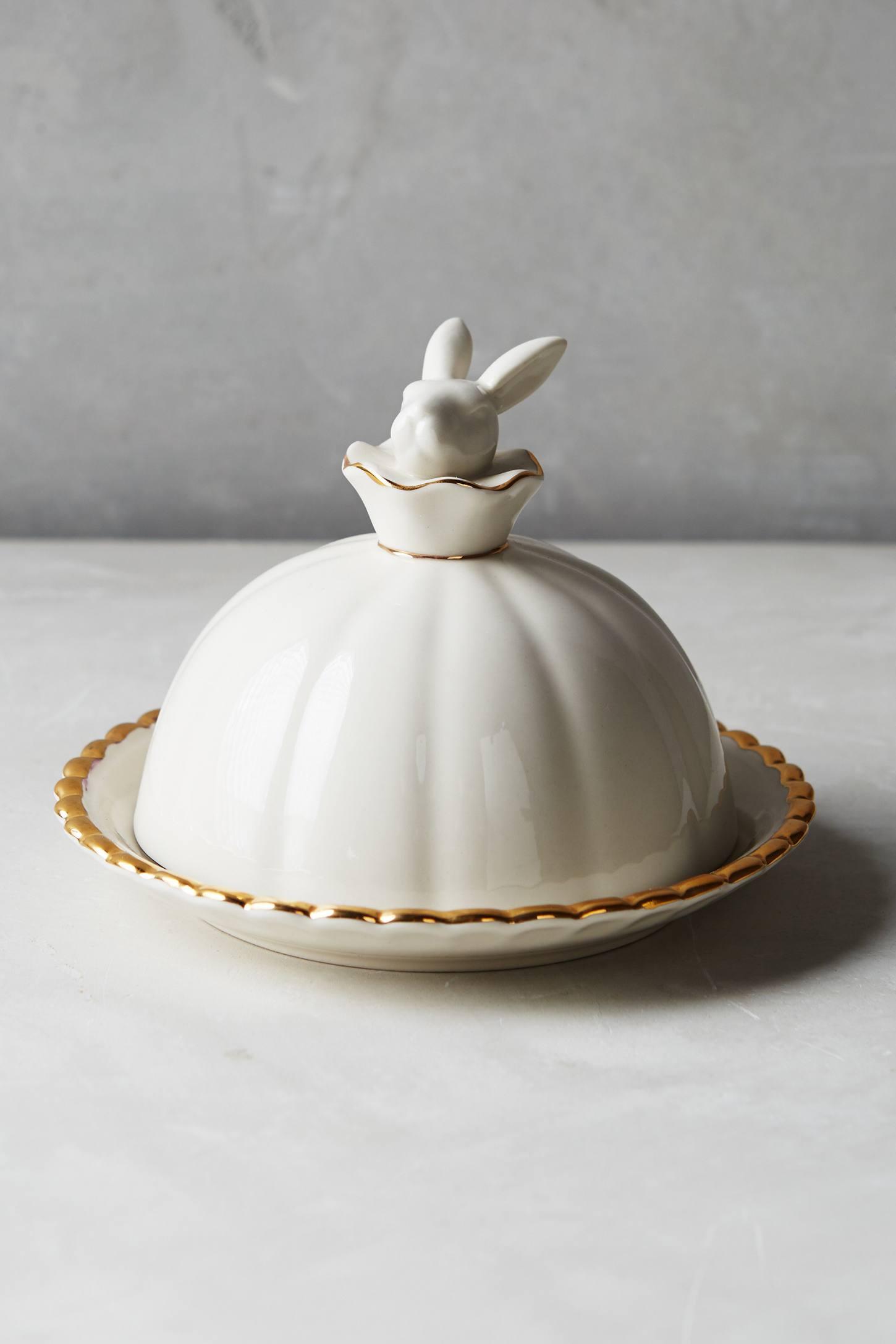 Wonderland Butter Dish